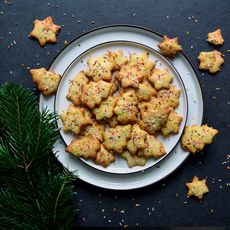 Maltese Lemon Christmas Cookies