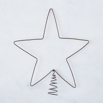 Wire Star Tree Topper