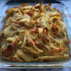 Orange-scented Noodle Kugel
