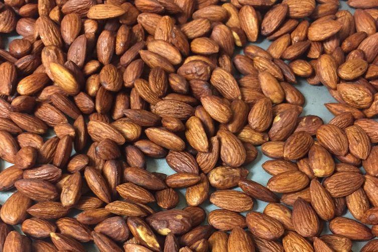 "Tamari Roasted ""Crack"" Almonds"