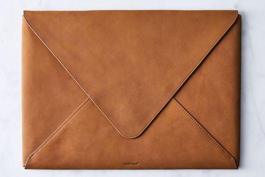 Leather Envelope Portfolio & Laptop Case