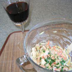 Summer Squash Chicken Salad
