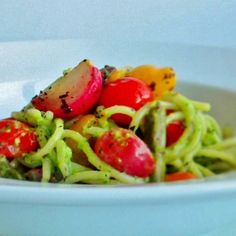 Radish Green and Pistachio Pesto