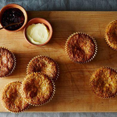 Gluten-Free Orange Spice Poppyseed Muffins