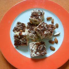 Healthy yoghurt mix bars