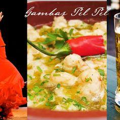 Gambas Pil Pil (Spicy Prawns)