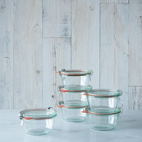 Weck Mold Jars (Set of 6)