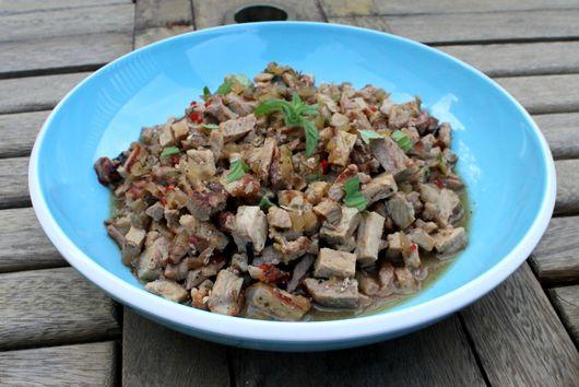 Modified Laap Muu (Lao Pork Salad)