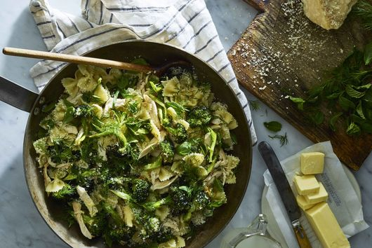 Farfalle With Chicken, Broccoli & All of the Herbs