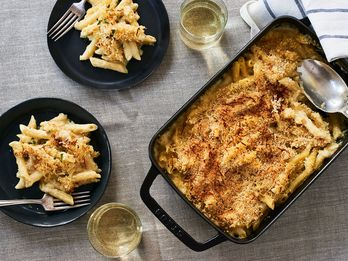 Mac and Cheese Makes A Pact With Mustard, Truffles, and White Wine