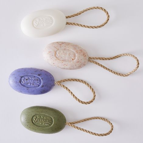 Provençal Scented Soap-on-a-Rope (Set of 2)