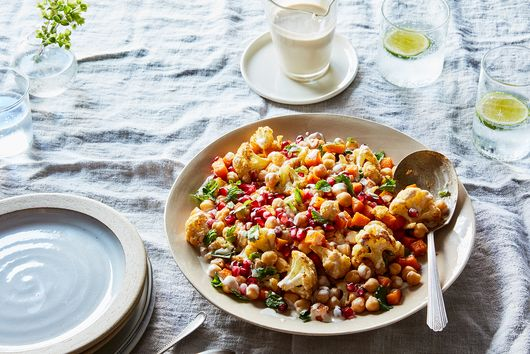The Tahini Dressing On This Ottolenghi-Inspired Salad Has A Secret