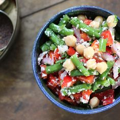 Chickpea & Coconut Salad