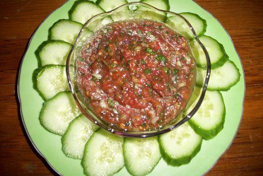 Homemade Tomato Salsa