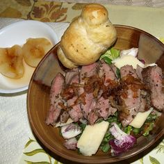 Grilled Sirloin Salad for Two