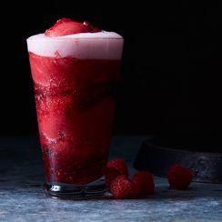 Raspberry Rosé-Sparkler Float