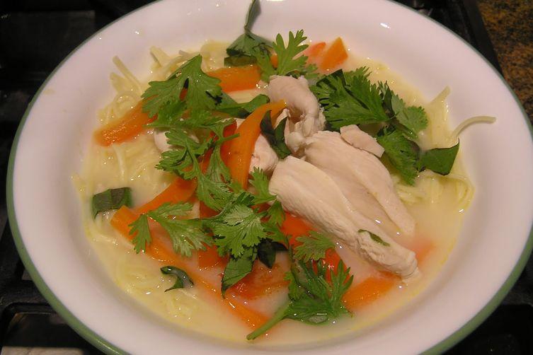 Lots O'Laksa (Malaysian-Style Chicken Soup)