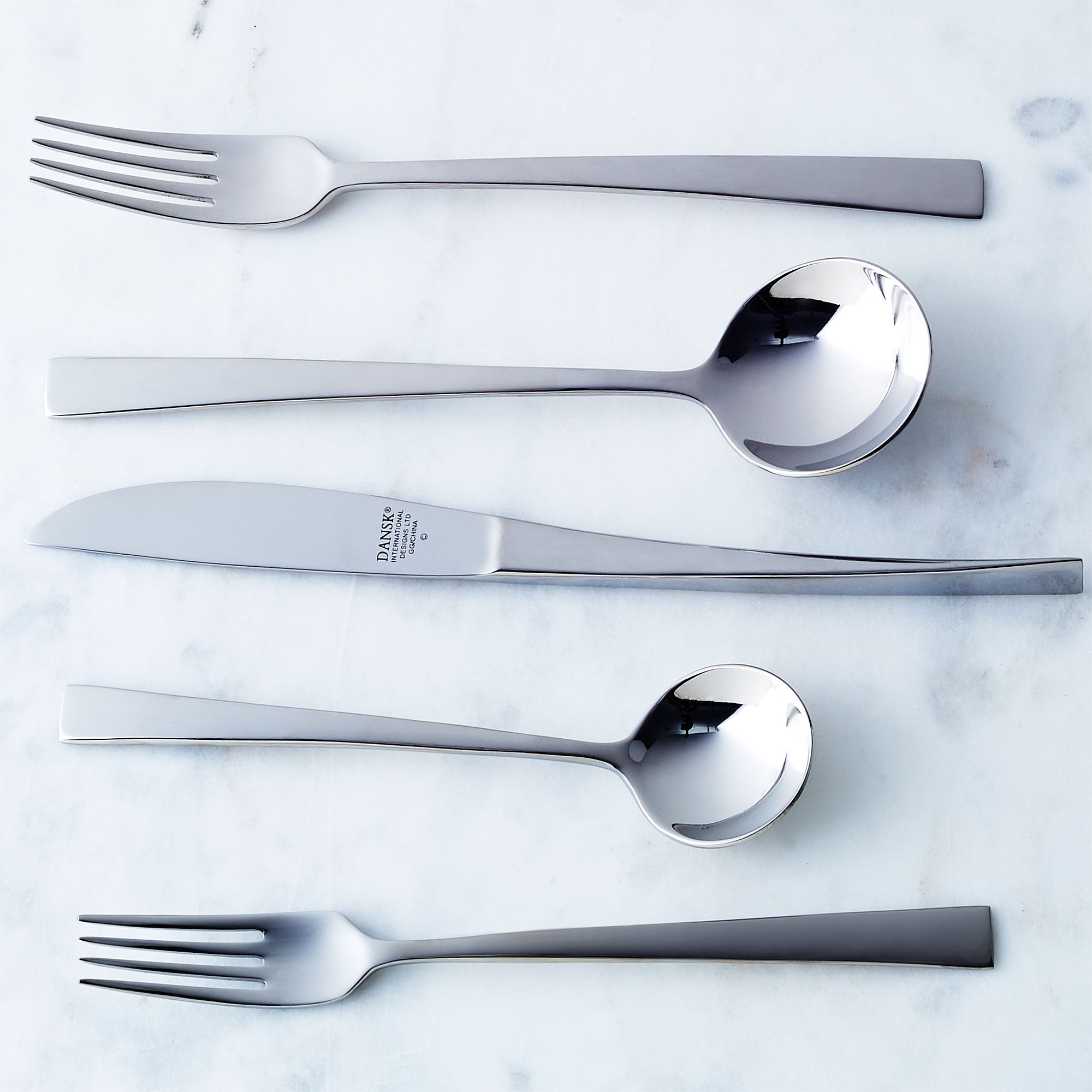 Dansk Rondure Flatware (5-piece Place Setting)