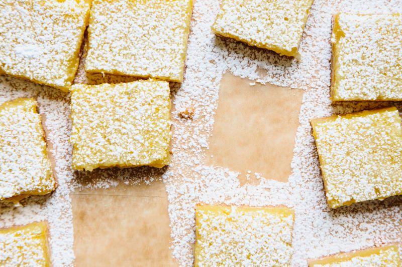 8 picnic perfect desserts for Food52 lemon bar
