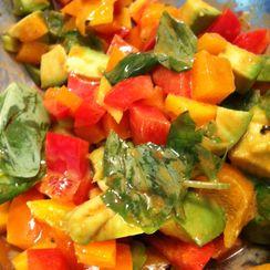 Monday Night Mango Salad