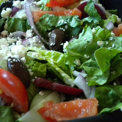 Fresh Herb Vinaigrette for My Big Fat Greek Salad
