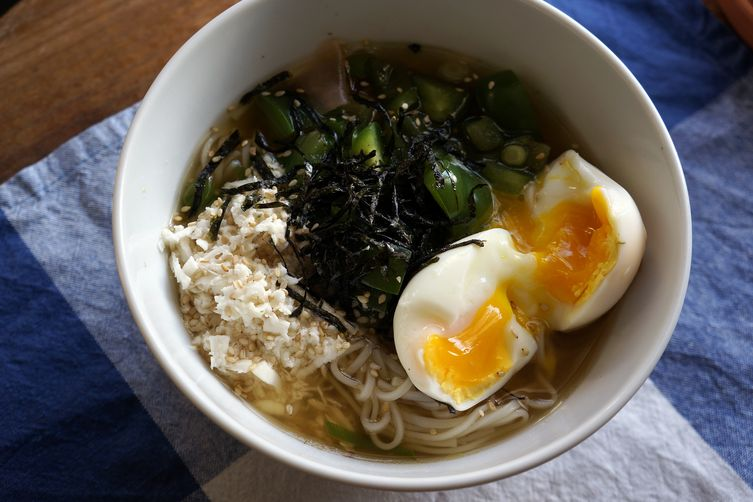 10 minutes- Tororo (Grated Yam) Noodles