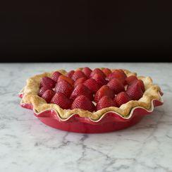 Strawberries n' Cream Pie