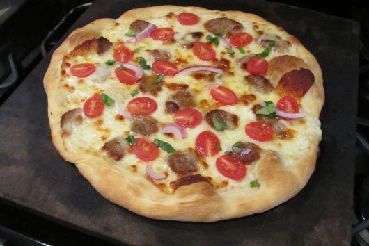 Sicilian White Pizza
