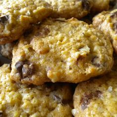 """Kicked"" Up Chocolate Chip Oatmeal Cookies"