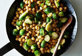 1dec5957 680a 4bc0 a778 43aad057196c  2014 1014 sauteed brussels sprouts and chickpeas 011