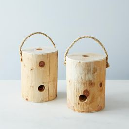 Portable Log Fire (Set of 2)