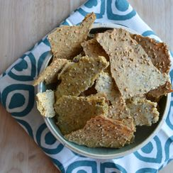 Multi-Seed & Herbs Chickpea Crackers