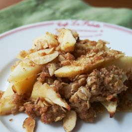 Not-Too-Sweet Apple Crisp