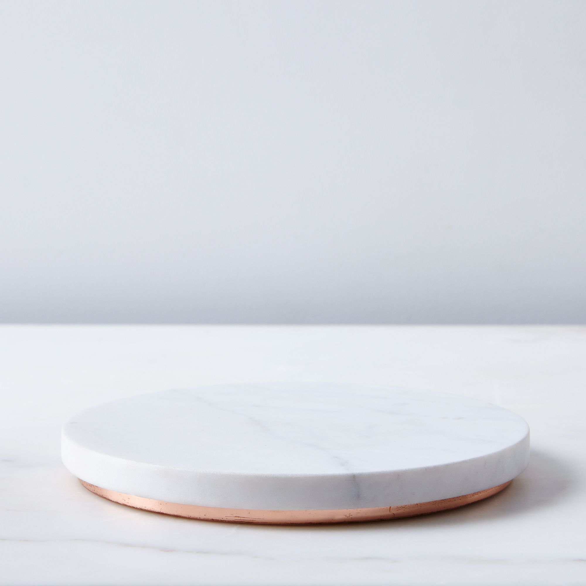 Buy Now Marble & Metal Trivet – White & Copper Before Special Offer Ends