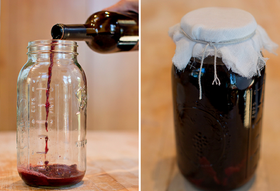 Red Wine Vinegar Made at Home