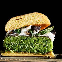 The Greenest Veggie Burger Starts with This Freezer Staple