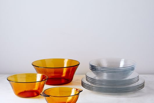 French Glass Dinnerware