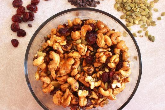 Maple Roasted Cashew Trail Mix