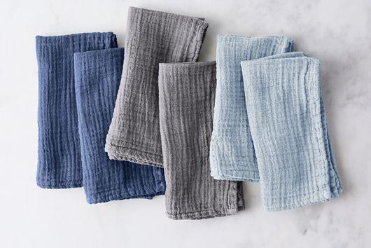 Cotton Crinkle Napkins (Set of 6)