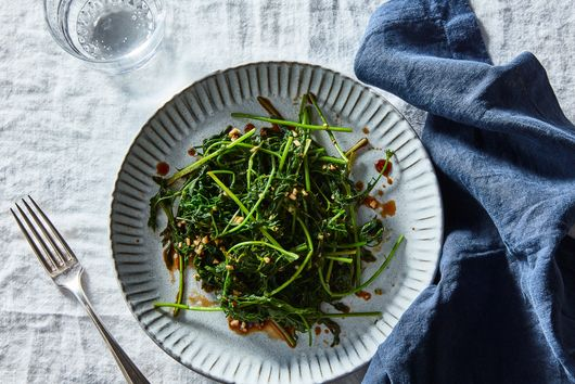 Georgia Freedman & Tusheng Shiguan's Carrot Greens Salad