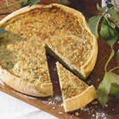 Pashteda (Mushroom Pie)