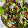 Spicy, Braised Chicken Lettuce Wraps