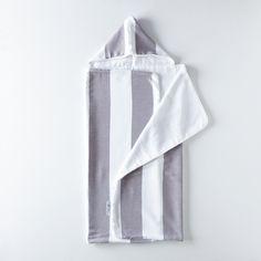 Child's Deck Stripe Hooded Towel
