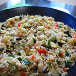 Middle-Eastern Summer Squash Salad