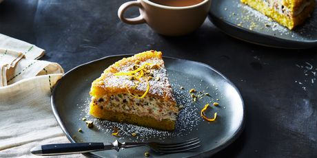 You've never seen olive oil cake like this before.