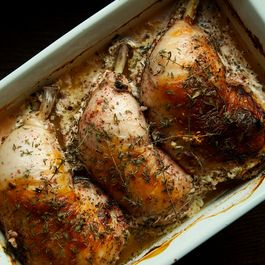 Oven Braised Buttermilk Chicken with Za'atar