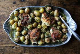 This Herby, One-Pot Chicken Dinner Has an Unlikely Hero