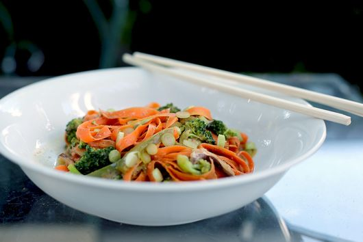 Quick-Cooking Carrot Ribbons to One-Up Your Zucchini Noodles