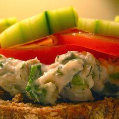 Smoked Trout Salad Sandwich