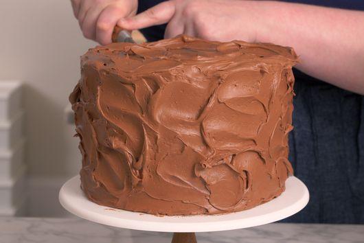 Caramel & Milk Chocolate Crunch Cake
